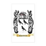 Chambrier Sticker (Rectangle)