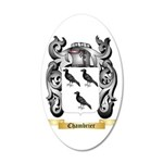 Chambrier 35x21 Oval Wall Decal