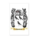 Chambrier 20x12 Wall Decal