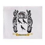 Chambrier Throw Blanket