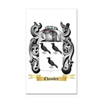 Chambre Rectangle Car Magnet