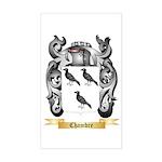 Chambre Sticker (Rectangle)