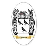Chambre Sticker (Oval 50 pk)