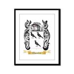 Chambre Framed Panel Print
