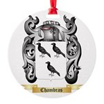 Chambras Round Ornament