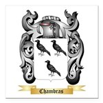 Chambras Square Car Magnet 3