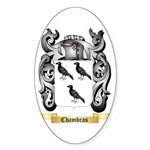 Chambras Sticker (Oval)