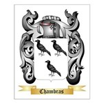 Chambras Small Poster