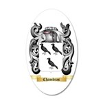 Chambras 35x21 Oval Wall Decal