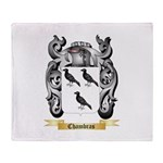 Chambras Throw Blanket