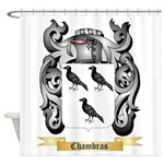 Chambras Shower Curtain