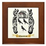 Chambras Framed Tile