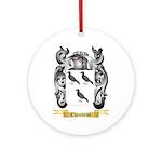 Chambras Ornament (Round)