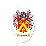 Chambers Oval Car Magnet