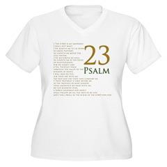 23rd psalm Plus Size T-Shirt