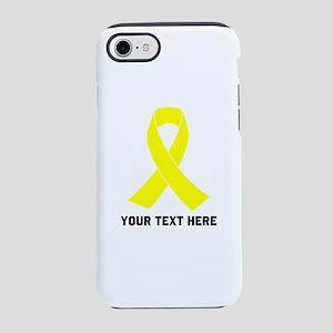 Yellow Ribbon Awareness iPhone 7 Tough Case
