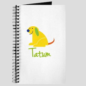 Tatum Loves Puppies Journal