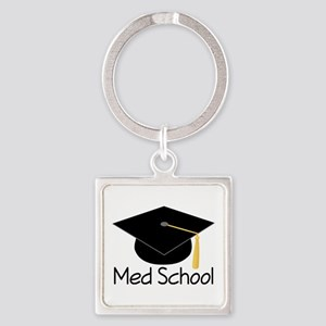 Gift For Med School Graduate Square Keychain