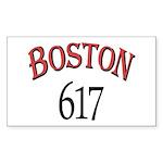 Boston 617 Sticker