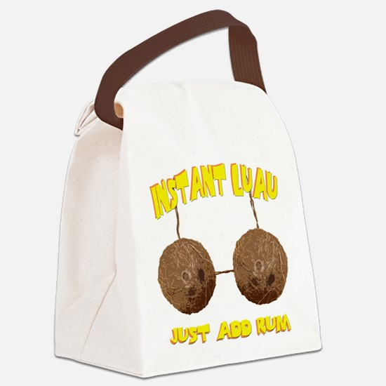 luau.png Canvas Lunch Bag