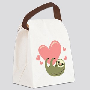 Sloth Canvas Lunch Bag