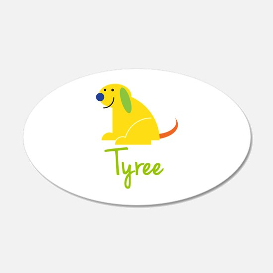 Tyree Loves Puppies Wall Decal