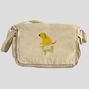 Tyrell Loves Puppies Messenger Bag