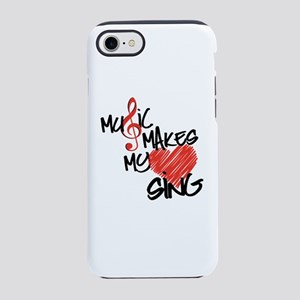 Singing Heart iPhone 7 Tough Case