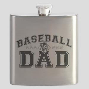 Baseball Dad Flask