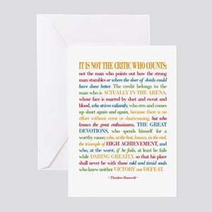 Famous quotes greeting cards cafepress the critic greeting cards m4hsunfo