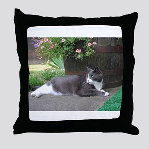 Morty At Leisure Throw Pillow