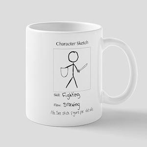 Character Sketch Mug
