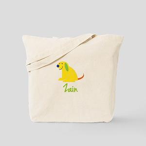 Zain Loves Puppies Tote Bag