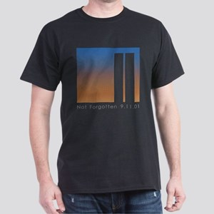 Tribute to 9-11 Black T-Shirt