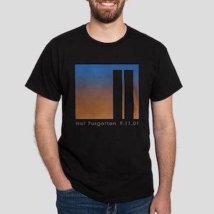 Tribute to 9-11 Black T-Shirt