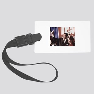 Ronald Reagan Luggage Tag