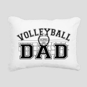 Volleyball Dad Rectangular Canvas Pillow