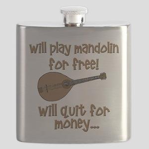 funny mandolin Flask