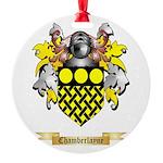 Chamberlayne Round Ornament