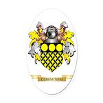 Chamberlayne Oval Car Magnet