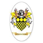 Chamberlayne Sticker (Oval 50 pk)