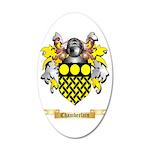 Chamberlain 35x21 Oval Wall Decal