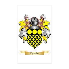 Chamber Sticker (Rectangle 10 pk)