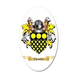 Chamber 20x12 Oval Wall Decal