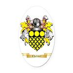 Chalmer Oval Car Magnet