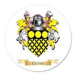 Chalmer Round Car Magnet