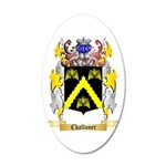 Challoner 20x12 Oval Wall Decal