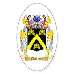 Challinor Sticker (Oval 50 pk)