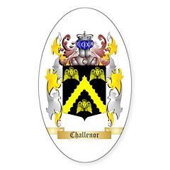 Challenor Sticker (Oval 50 pk)