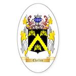 Challen Sticker (Oval 10 pk)